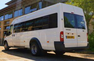 17 seater Ford Transit