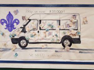 Help us raise £20,000 for a minibus!