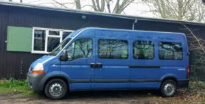 Newnham Scouts 15 Seater Minibus (Renault Master)